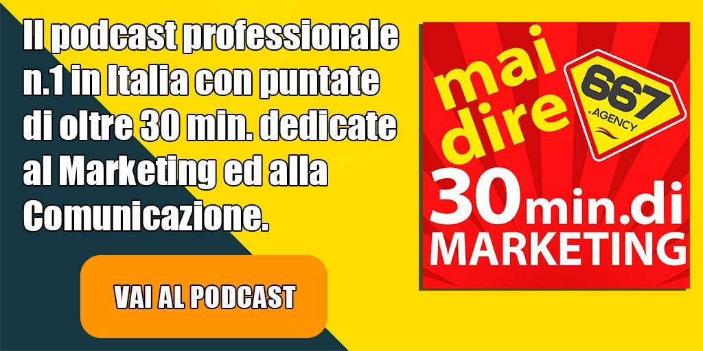 Podcast Marketing Vendita italiano