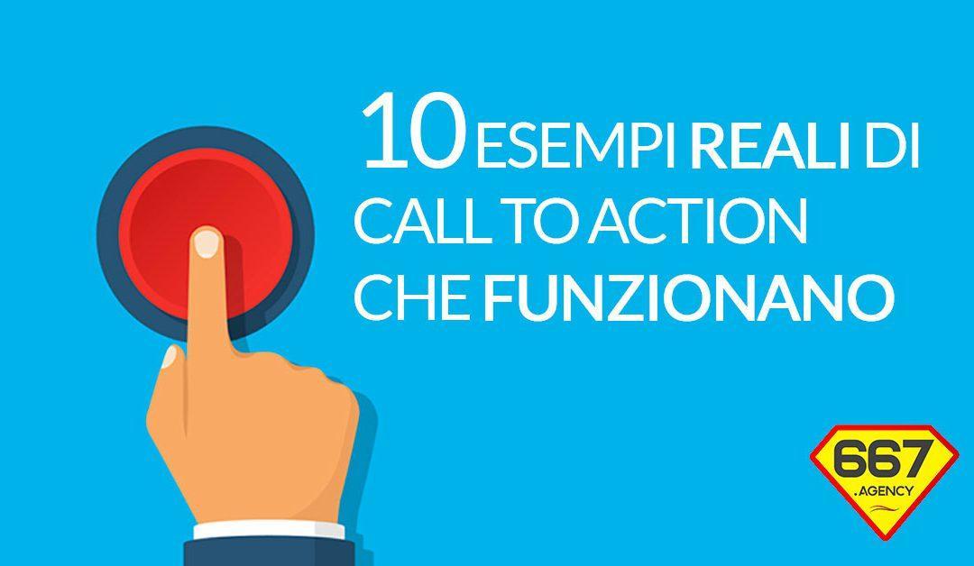 10 esempi di Call To Action che funzionano