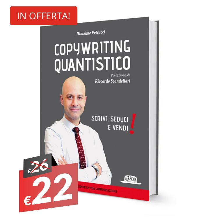 libro copywriting quantistico di massimo petrucci