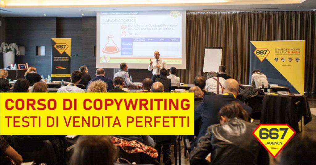 Corso Copywriting Quantistico: scrivi testi di vendita perfetti