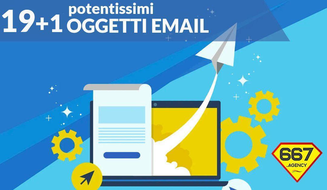 19+1 Oggetti email imbattibili!