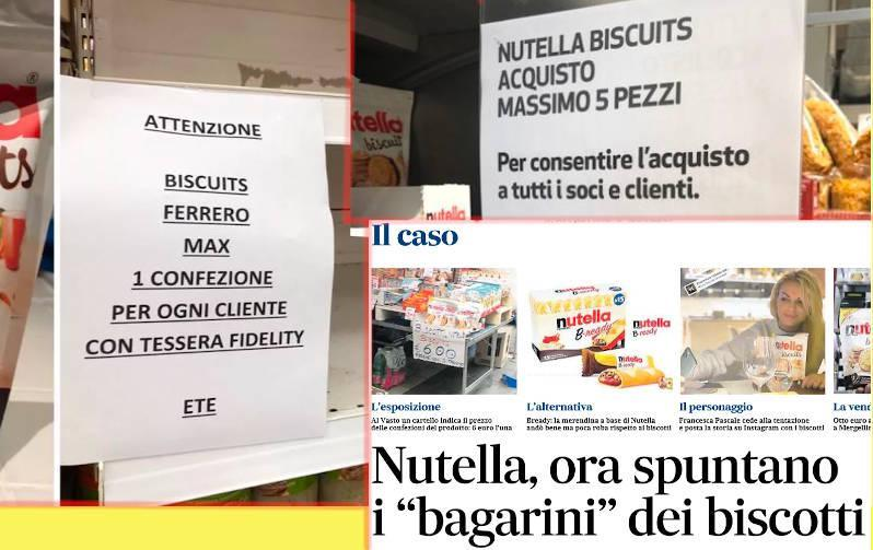 strategia marketing nutella biscuits