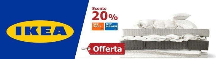 Strategia Ikea di aumento frequenza di acquisto con sconto 20%