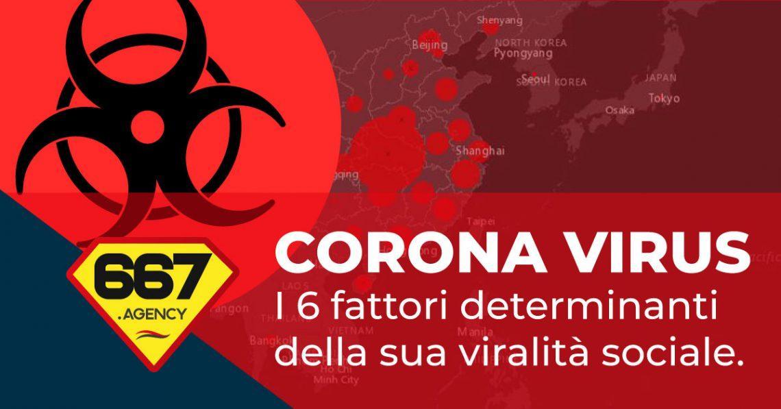 corona virus la comunicazione virale