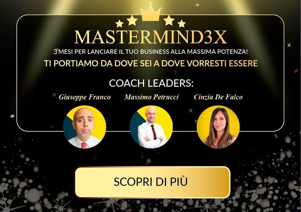 MasterMind3X: più che una formazione più che una consulenza