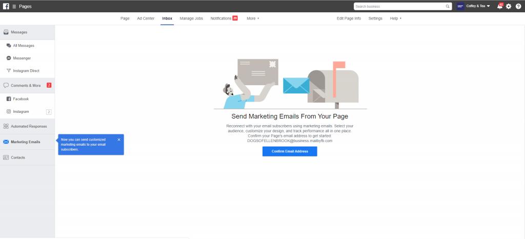 Fare Email Marketing su Facebook