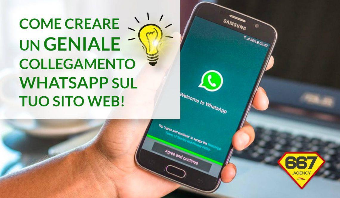 collegamento html whatsapp click to chat