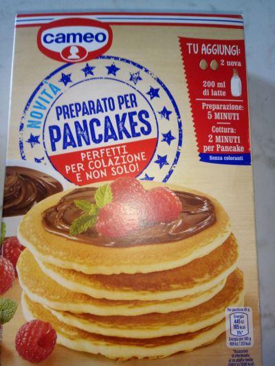 preparato per pancake che sfrutta lo studio degli anni 50 di Ernest Dichter