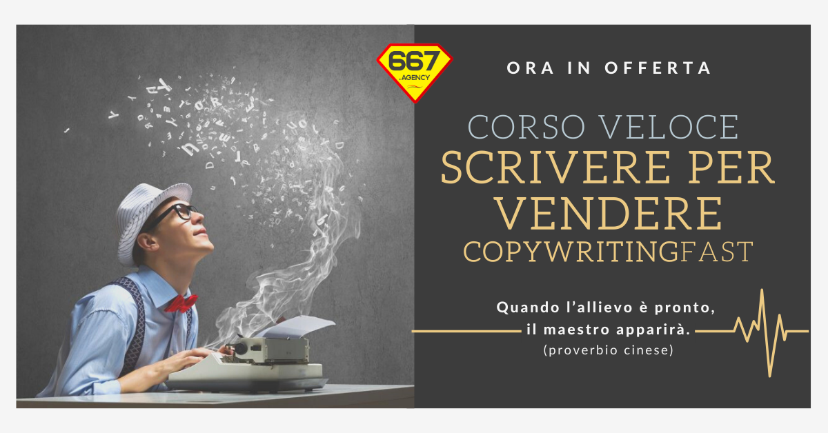 Corso Copywriting Scrivere per Vendere