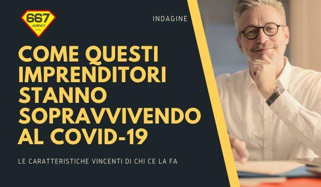 Imprenditori che vincono il Covid-19