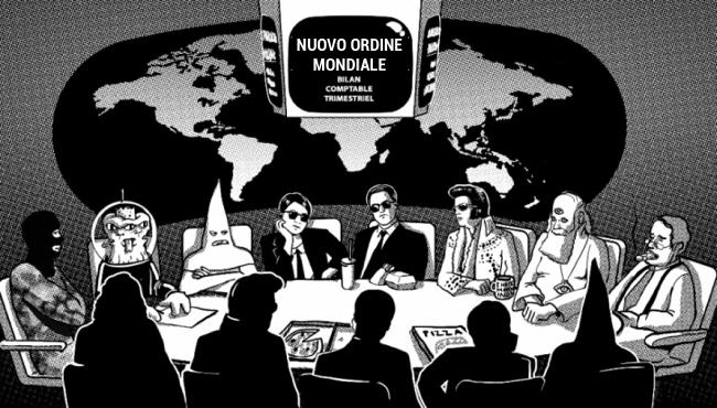 teoria del complotto e nuovo ordine mondiale