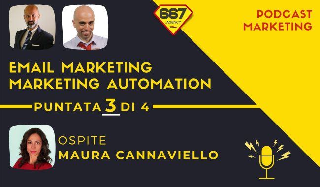 Email Marketing e Marketing Automation con Maura Cannaviello puntata 3 di 4