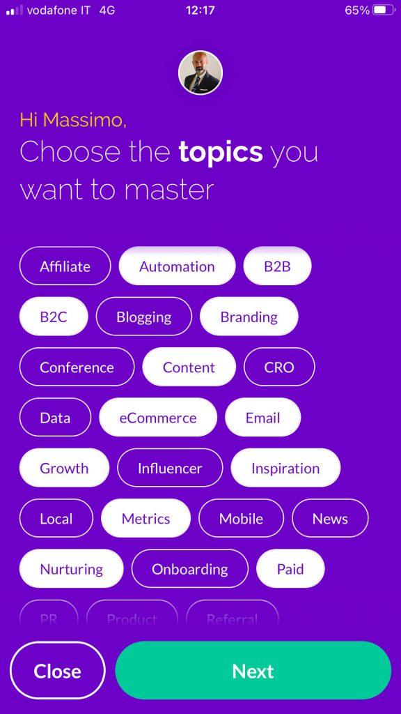 Personal Branding e uso di Zest per trovare contenuti utili