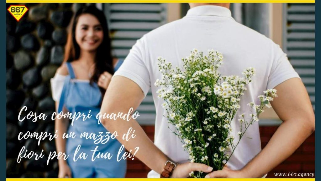 Regalare  dei fiori: qual è il beneficio che cerchi quando acquisti dei fiori alla tua lei?